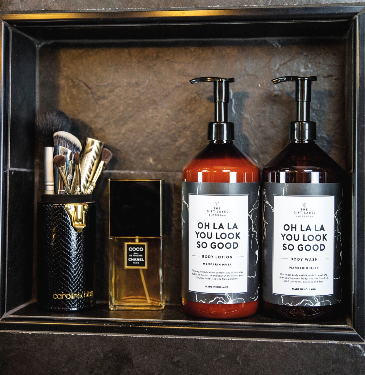 GiftLabel bodywash - Stylin cadeau artikelen Rijnsburg