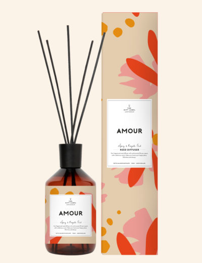 GiftLabel geurstokjes Amour - Stylin cadeau artikelen Rijnsburg