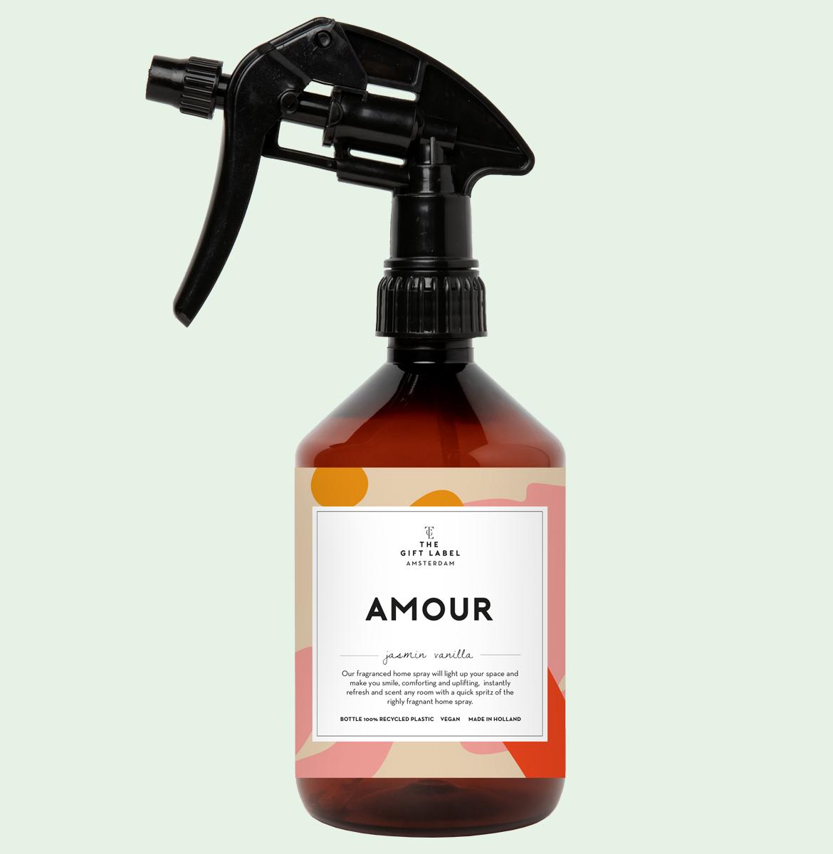 GiftLabel Homespray Amour - Stylin cadeau artikelen Rijnsburg