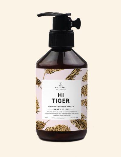 GiftLabel Handcrème hi tiger - Stylin cadeau artikelen Rijnsburg