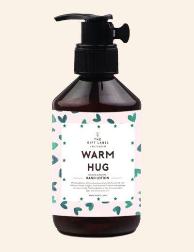 GiftLabel Handcrème Warm hug - Stylin cadeau artikelen Rijnsburg