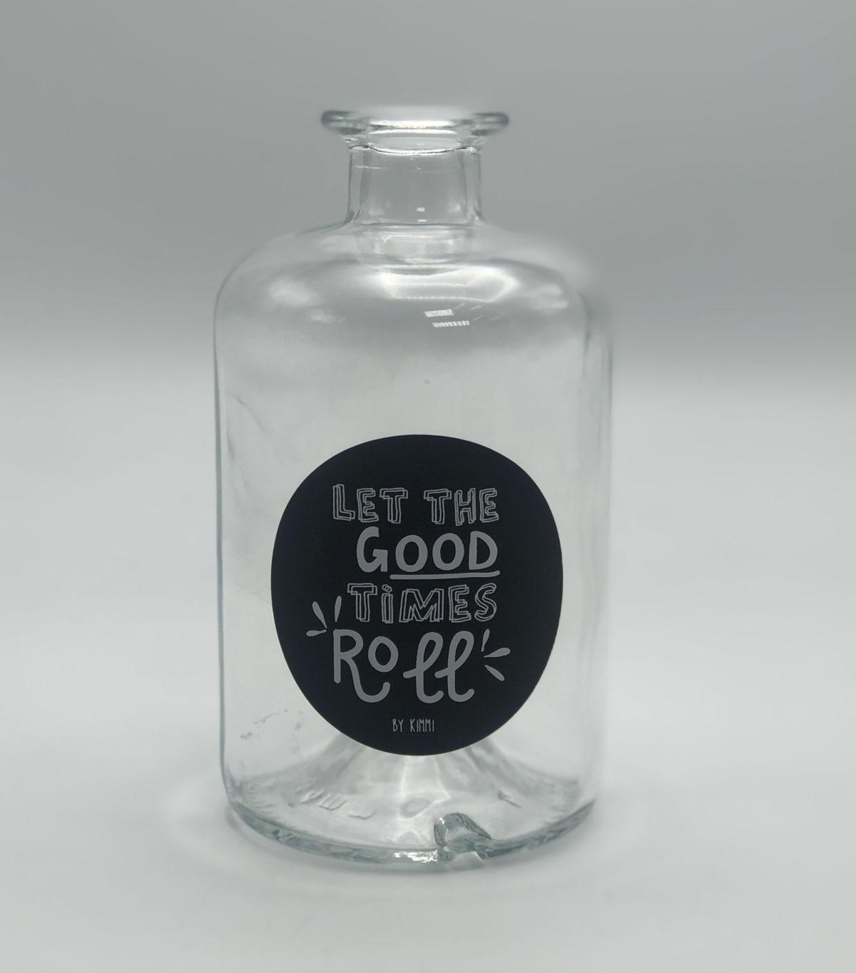 Stylin glazen flesje2